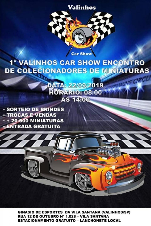 1º Valinhos Car Show Encontro de Colecionadores de Miniaturas