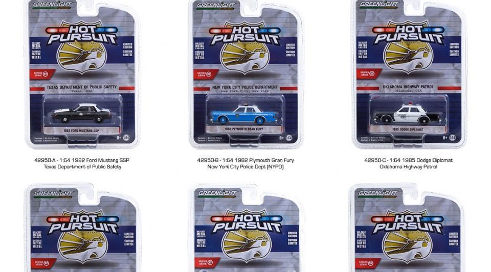 O lote 37 da série Hot Pursuit chegando nas lojas dos EUA