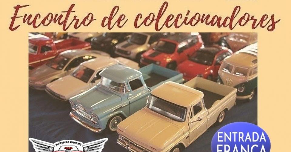 Encontro de colecionadores em Arapongas neste final de semana!
