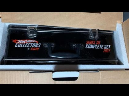 Lamley Live Unboxing: Hot Wheels 2007 RLC Series 6 Boxed Set