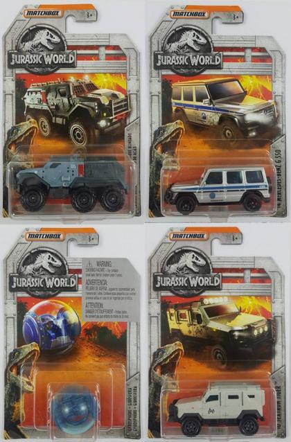 Miniaturas Matchbox Jurassic World