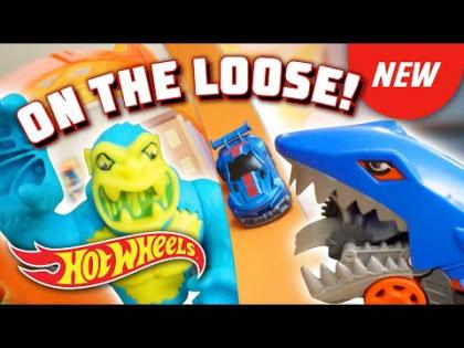 @Hot Wheels  | DINOSAURS, DRAGONS, SHARKS, and GORILLAS ON THE LOOSE!