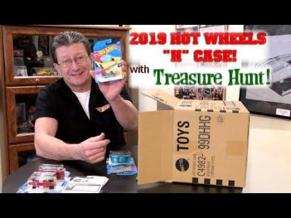 Unboxing Hot Wheels 2019 H Case with Treasure Hunt & New Castings!