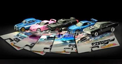 As novidades da série Fast And Furious Premium da Hot Wheels!