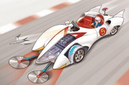 Infográfico: o carro Mach 5 de Speed Racer