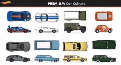 As novidades das linhas premium da Hot Wheels em 2021!