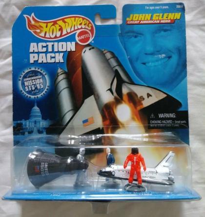 Hot Wheels Action Pack John Glenn