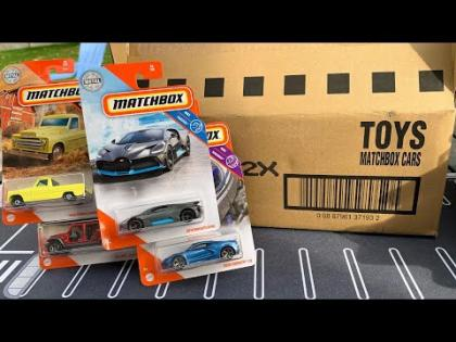 Lamley Unboxing: Matchbox 2020 X Case (Mix 6 w/ Bugatti Divo & C8!)