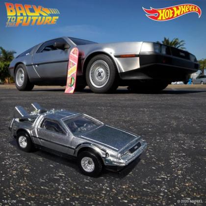 Hot Wheels homenageira os 35 anos do filme De volta para o Futuro