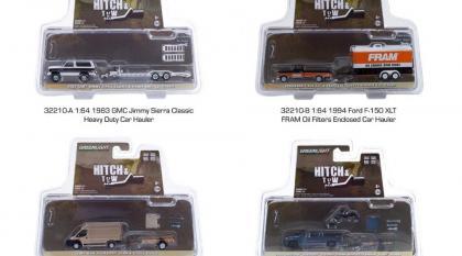 Quatro novos conjuntos da série Hitch And Tow chegando nas lojas dos EUA