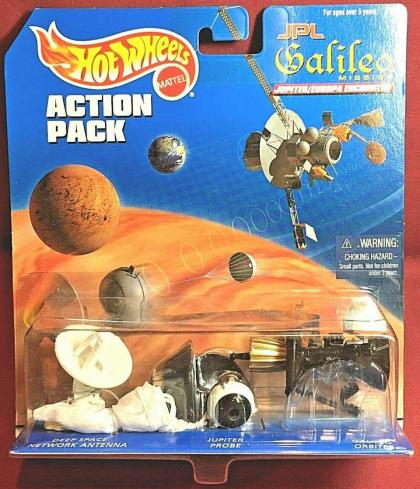 Hot Wheels Action Pack JPL Galileo
