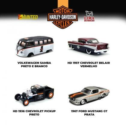Miniaturas da Harley Davidson na Lima Hobbies!