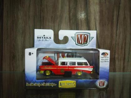 Coleção Fire Chief M2 Machines, Edição Limitada Produção 750 peças em todo o mundo.