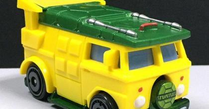 A Party Wagon das Tartarugas Ninjas em breve na Hot Wheels!