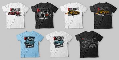 A segunda fornada de camisetas do T-Hunted está disponível! E elas estão incríveis!