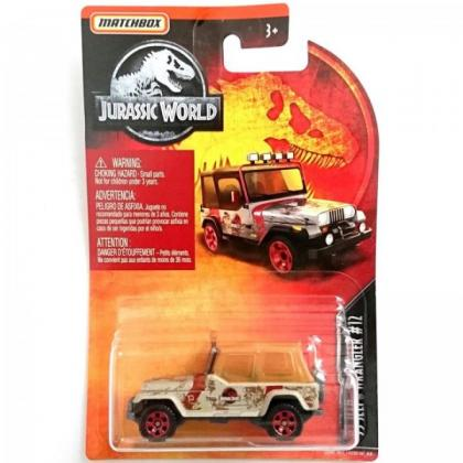 Matchbox '93 Jeep Wrangler #12 Jurassic World