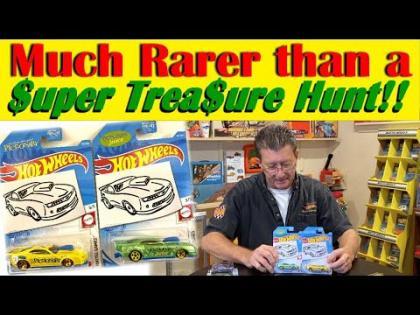 Rarer Than A Super Treasure Hunt   Hot Wheels