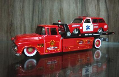 1957 Chevy Truck / 1967 VW 1600 Squareback