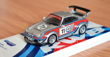 Os belos novos Porsches da Tarmac!