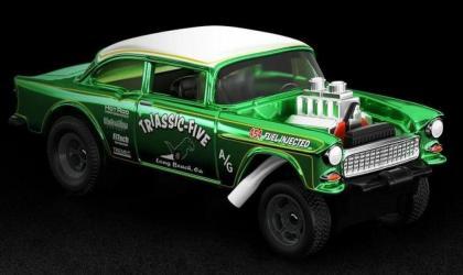 Mais um Chevy Gasser da Hot Wheels, desta vez disponível no RLC