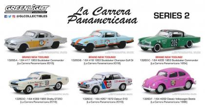 As fotos dos carros da série La Carrera Panamericana