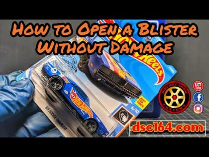 How to Open a Blister without Damage