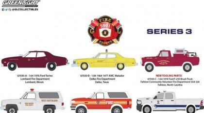 Mais um novo lote da série Fire And Rescue da Greenlight