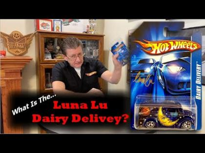 Hot Wheels Luna Lu Dairy Delivery | Hot Wheels