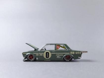 Mini GT/Kaido House Datsun 510 Pro Street OG Green