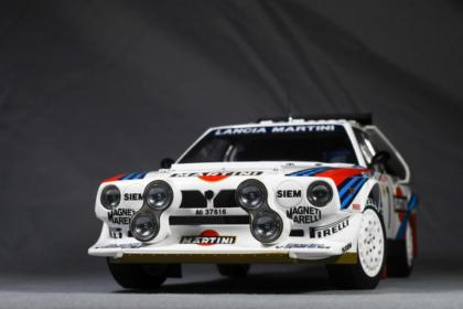 Greetings! Here is a Lancia Delta S4.