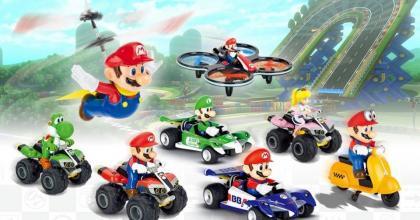 A Kyosho também na febre do Mario Kart
