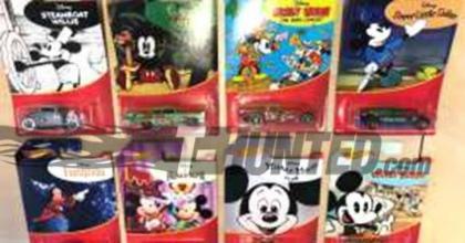 Uma inédita coleção da Hot Wheels em homenagem ao Mickey Mouse e a Disney!