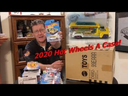 Hot Wheels 2020 A Case with Many New Castings!