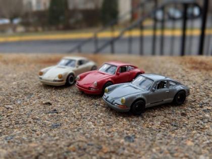 Miniature Amelia Island Porsche Concourse