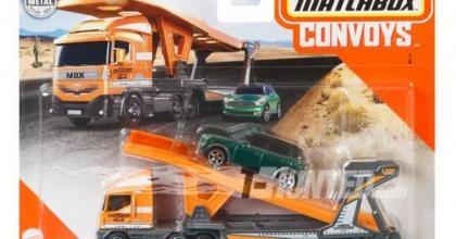 Novos Convoys da Matchbox