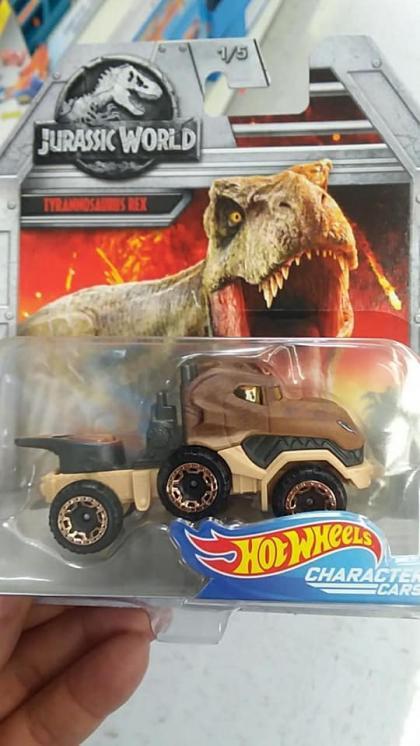 Nova coleção Jurassic World da Hot Wheels