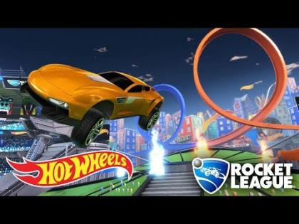 First Look: Hot Wheels Rocket League Arena (Exclusive Gameplay Preview)   Hot Wheels