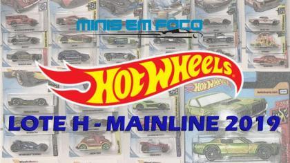 As miniaturas do lote H da Mainline 2019