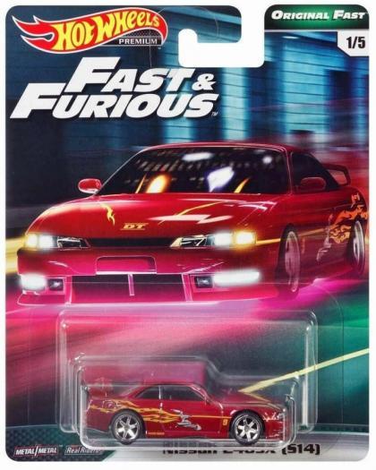 Hot Wheels Fast & Furious Premium Original Fast