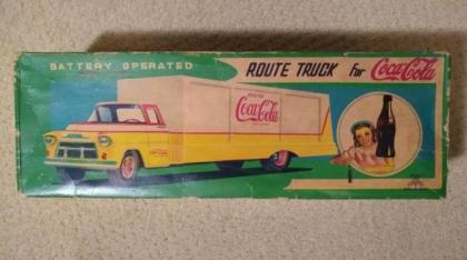 Coca Cola Route Truck Diecast Toy UPDATED