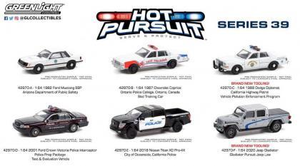 As fotos das viaturas do 39º lote da série Hot Pursuit