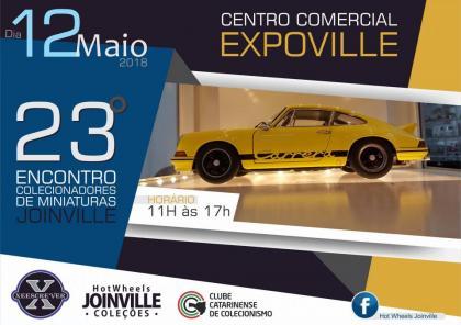 23º Encontro de Colecionadores de Miniaturas em Joinville