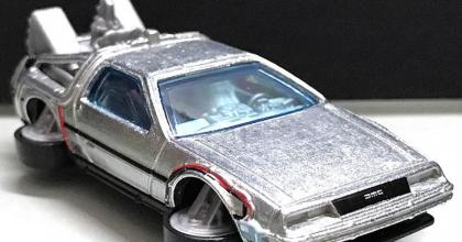 Novas fotos do DeLorean Super T-Hunt!