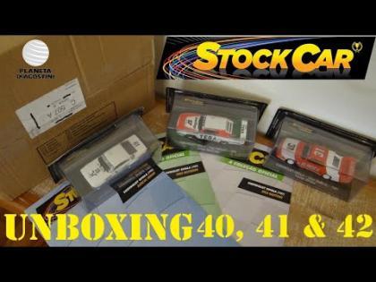 UNBOXING - Edições 40, 41 e 42 Coleção STOCK CAR - Planeta DeAgostini