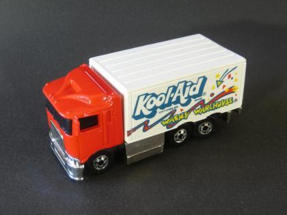 1992 Hot Wheels Kool-Aid Hiway Hauler on #142 Collector Card