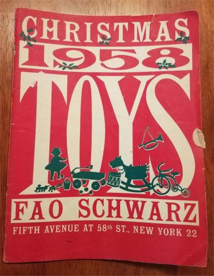 Vintage Diecast In Old Christmas Catalogs (pic heavy)