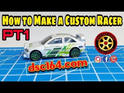 HOW TO MAKE A CUSTOM RACER HOT WHEELS PT1