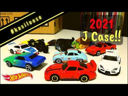 #kasiloose - Opening up models from 2021 Case J!! Porsche, Falken, Gulf and the new Toyota!!