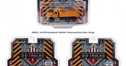 Mais um lote da série S.D. Trucks da Greenlight chegando nas lojas dos EUA