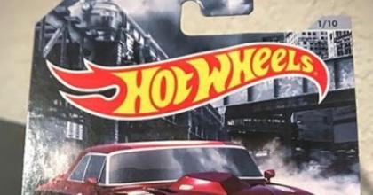 Uma nova série de muscle cars da Hot Wheels